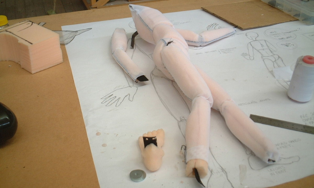 teaching puppet for VCA c.2006