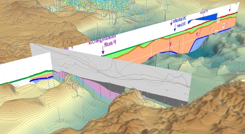Section Sketch provides the missing cross section view for subsurface professionals using ESRI's ArcGIS Platform.