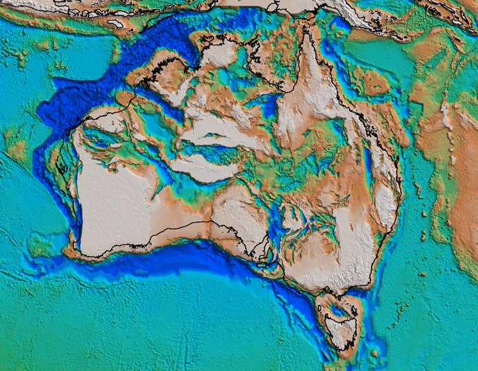 Frogtech Geoscience Proterozoic OZ SEEBASE™