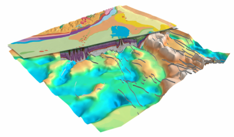 3D SEEBASE from FROGTECH's Barents Sea SEEBASE Study and GIS.