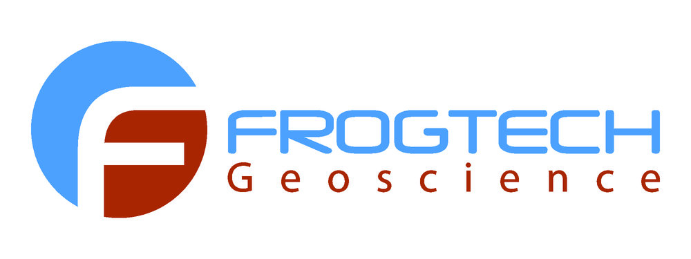 Frogtech Geoscience - New company logo.