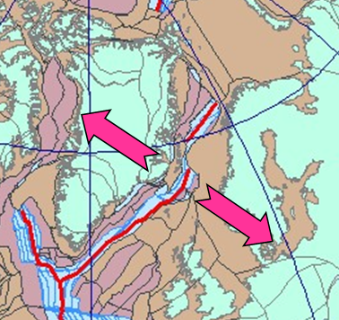 Tectonic events, structure and basement geology included in the Barents Sea SEEBASE GIS