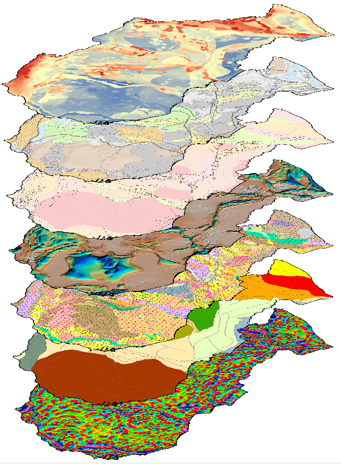 "Frogtech's SABRE™ (Systematic Approach to Basin Resource Evaluation) methodology and ""Bottom-up"" approach to basin analysis provide a range of key deliverables (such as potential field datasets, basement geology, SEEBASE, tectono-stratigraphic history, and present-day basement heat flow)."