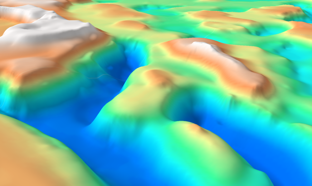 Oblique 3D View of the Barents Sea SEEBASE™