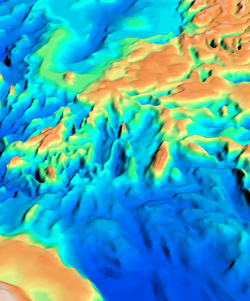 3D oblique view of the South China Sea SEEBASE
