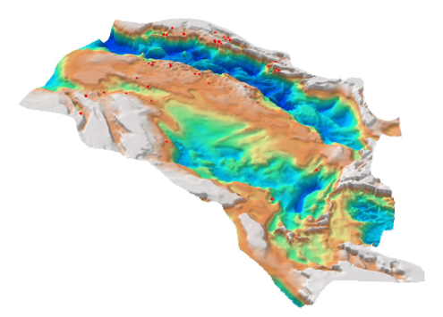 3D SEEBASE from Frogtech's 2018 Canning Basin Study