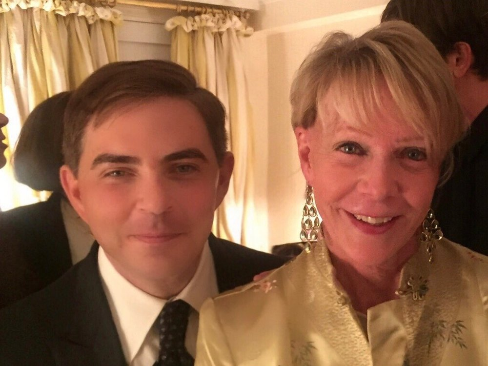 360bespoke's Murphy with Cathie Black, the former president and chairwoman of Hearst Magazines,