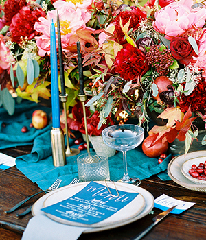 JEWEL TONED RANCH STYLED SHOOT Paper Goods + Signage