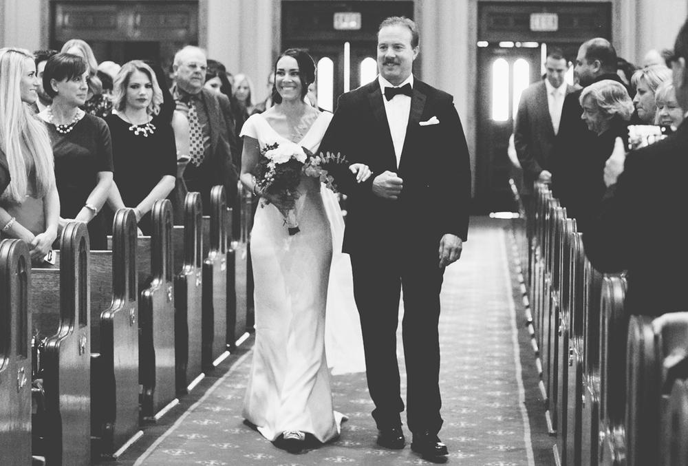 Megan and Nick | Winter Urban Winery Wedding