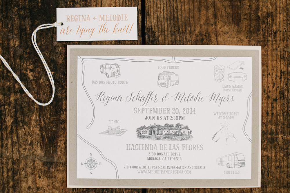 Regina and Melodie | Hacienda de Las Flores Same Sex Wedding