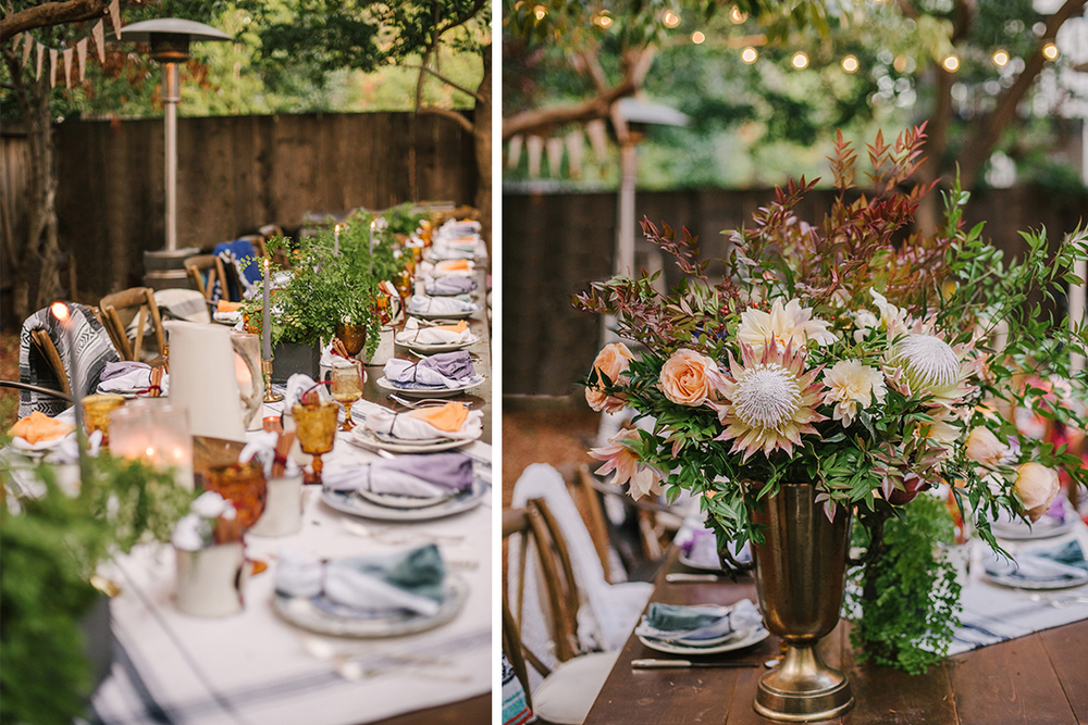 Katie + Josh | San Anselmo Friendsgiving Dinner