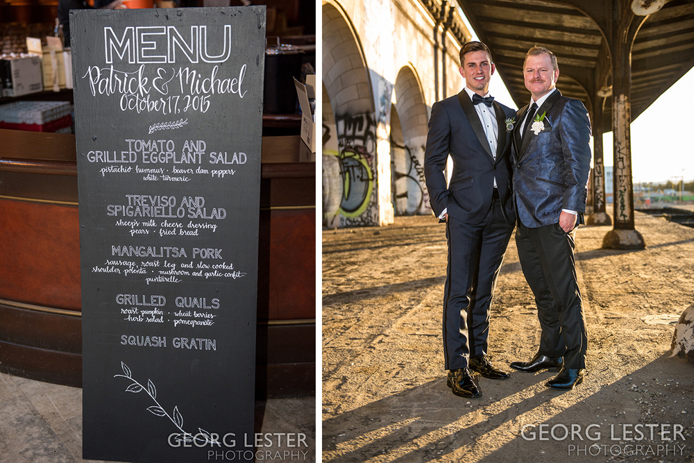 Patrick and Michael | 16th Street Station Oakland Wedding