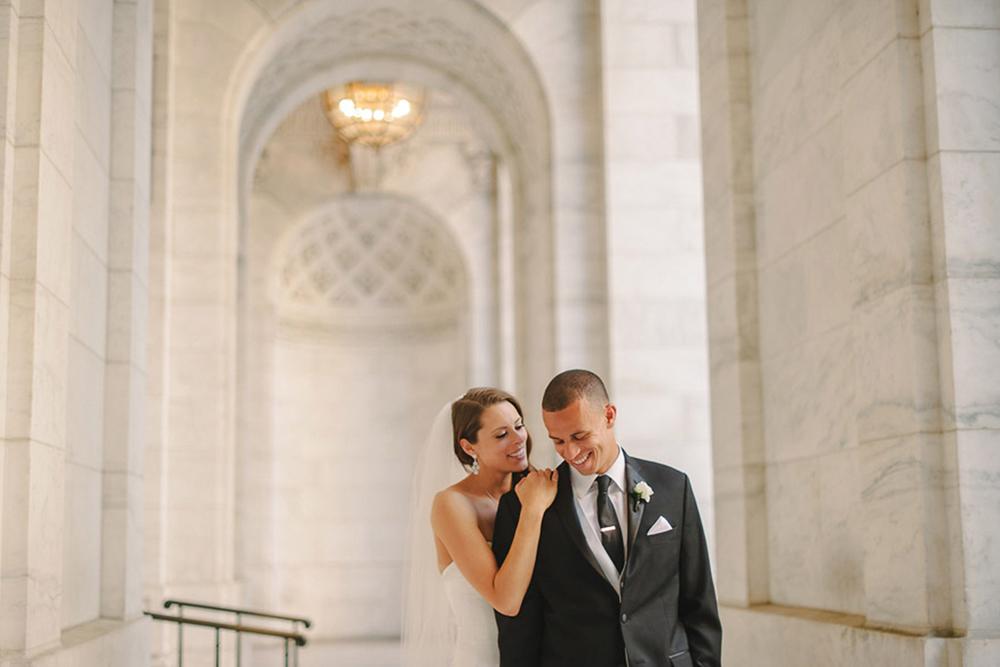 Kaley and Jason | Bryant Park New York Wedding