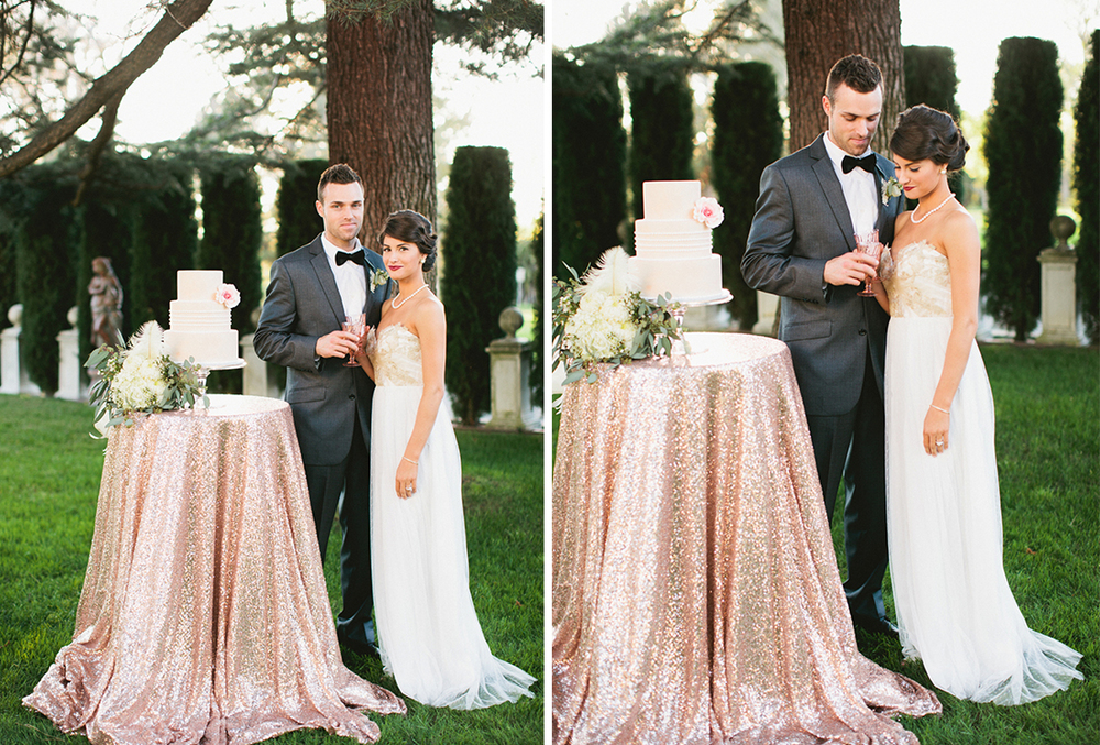 20s Meets Modern Wedding | Jefferson Street Mansion Styled Shoot