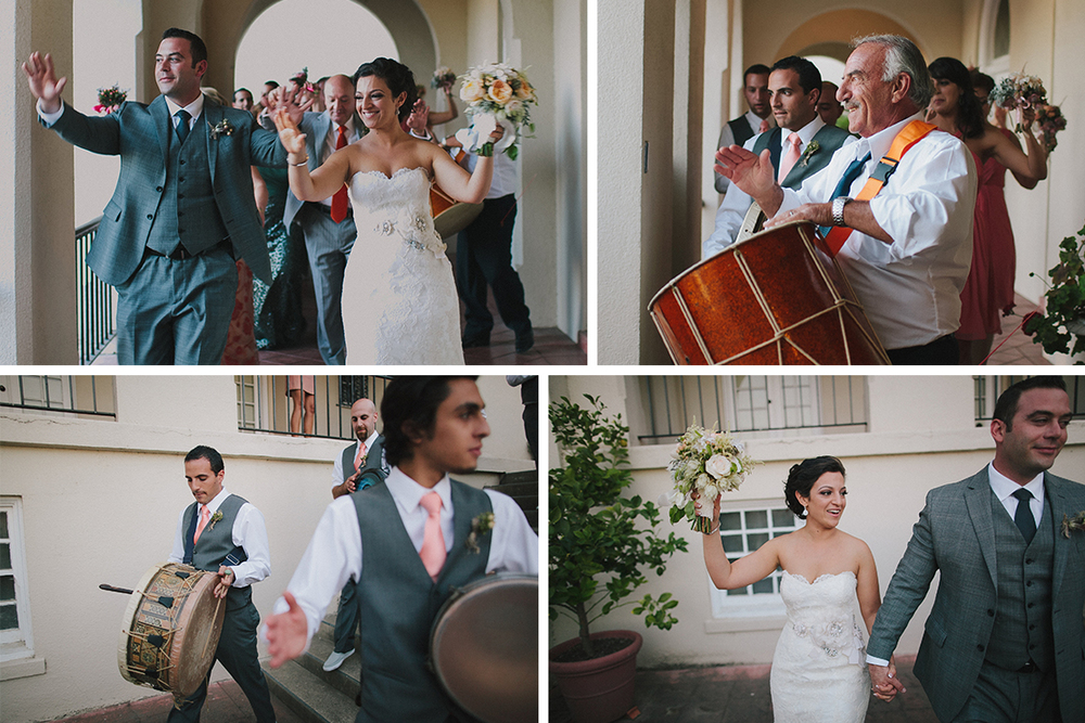 Narine and Raffi | St. Vincent's School for Boys San Rafael Armenian Wedding