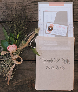 NARINE + RAFFI WEDDING Save the Date, Invitation, Paper Goods, Signage