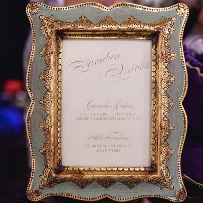 Sweet + Crafty | Wedding Bar Menu