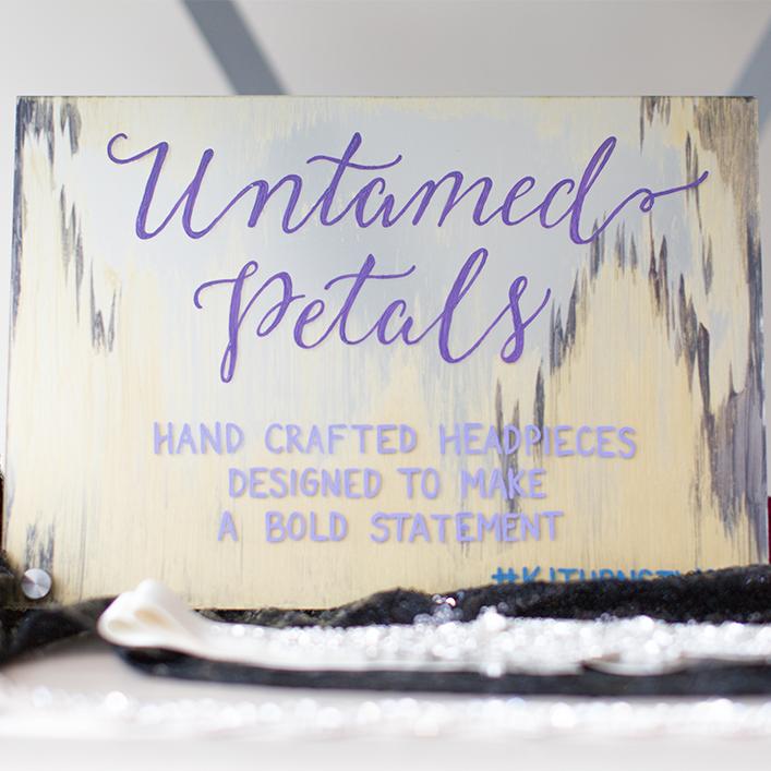 Sweet + Crafty | Plexiglass / Acrylic Welcome Sign Calligraphy