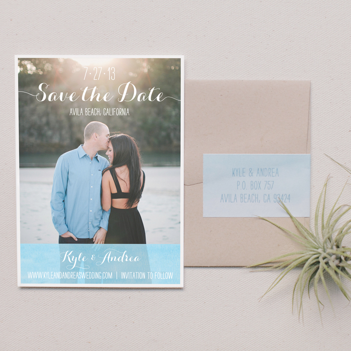 Sweet + Crafty | Save the Date Design