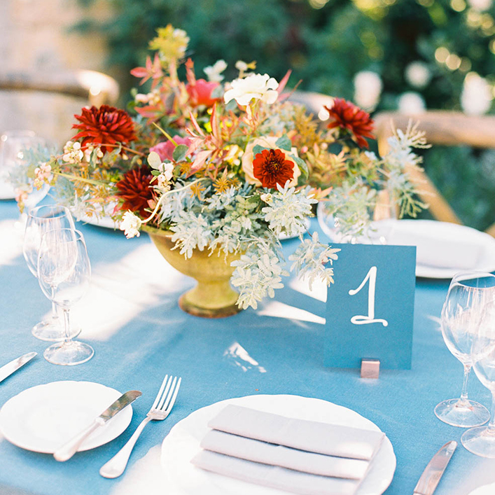 Sweet + Crafty | Wedding Table Numbers