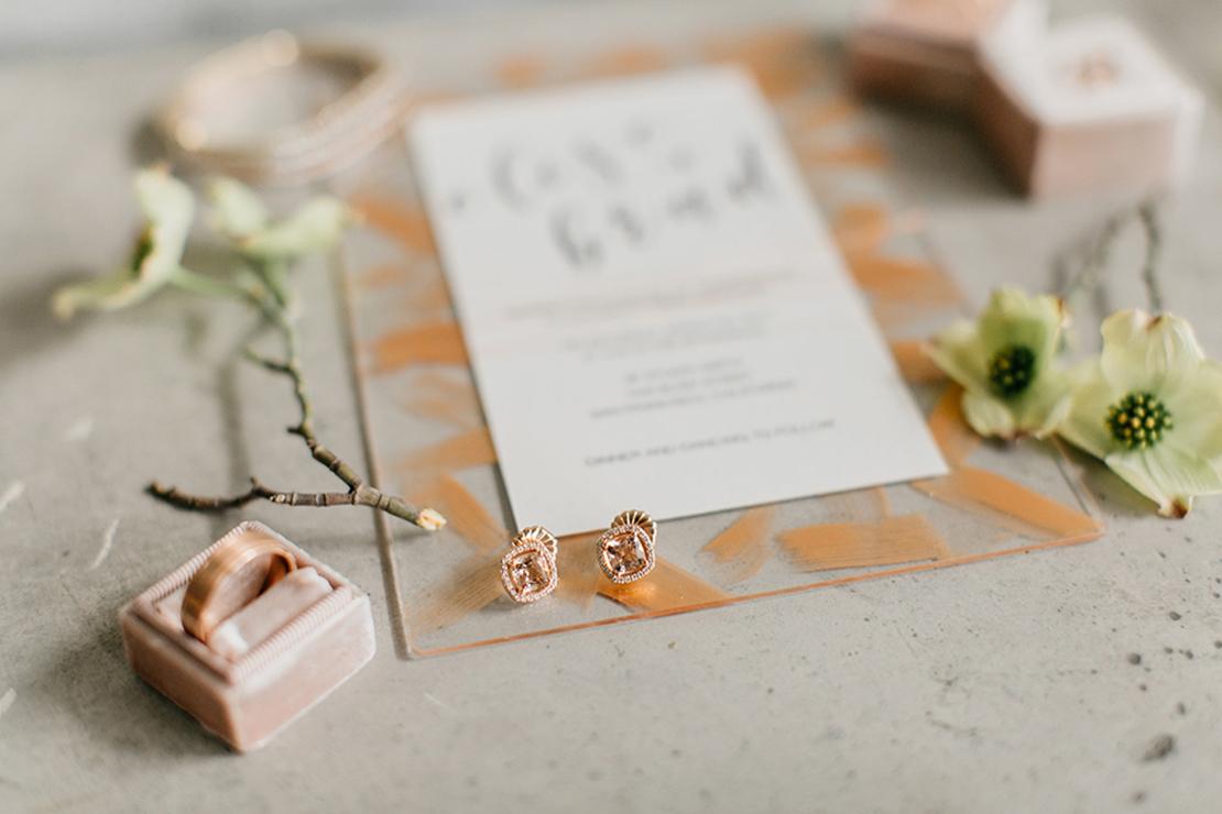 Sweet + Crafty — Romantic modern industrial wedding inspiration