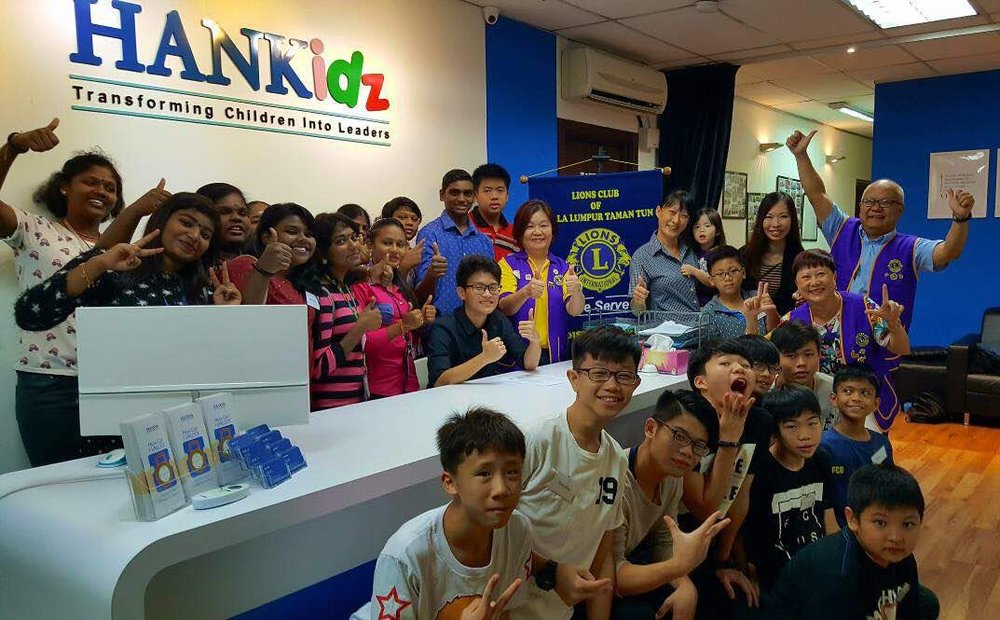 In conjunction with International Youth Day, I was invited by the Lions Club of Taman Tun to give a talk to underprivileged children from MySkills Foundation and Daniel Training Centre on 12 Aug 2017 at the HANkidz centre