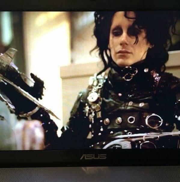 Dmitry as Edward Scissor Hands!
