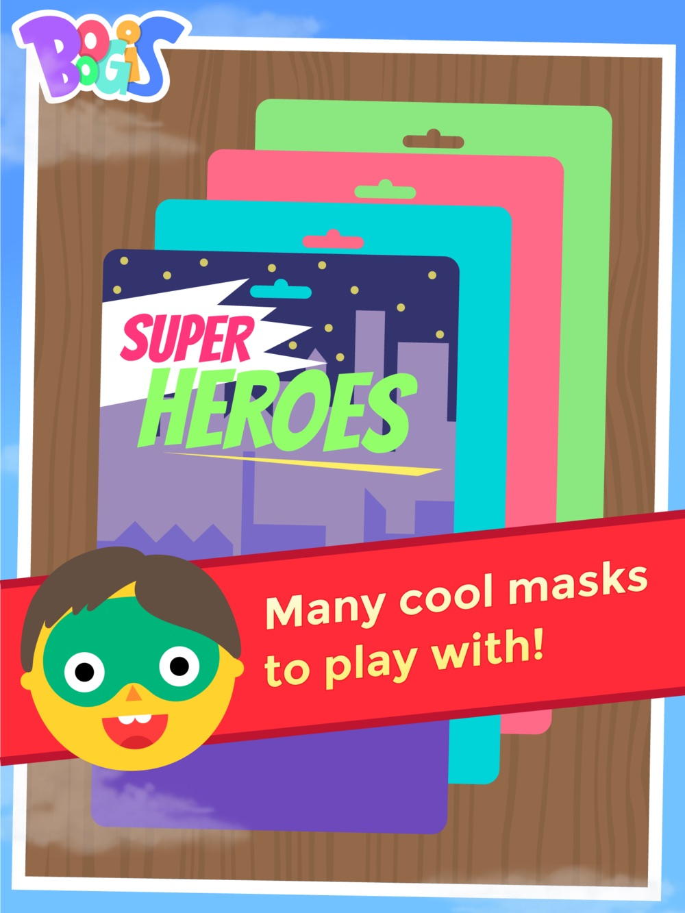 Boogis Mask Maker iPad app masker