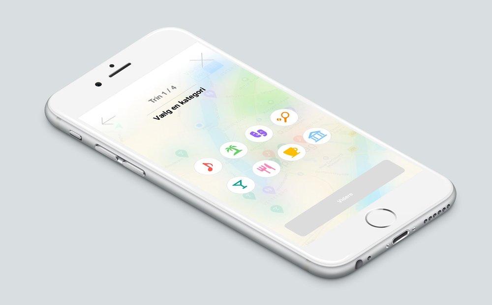 Hoodee app kategorier af sociale events