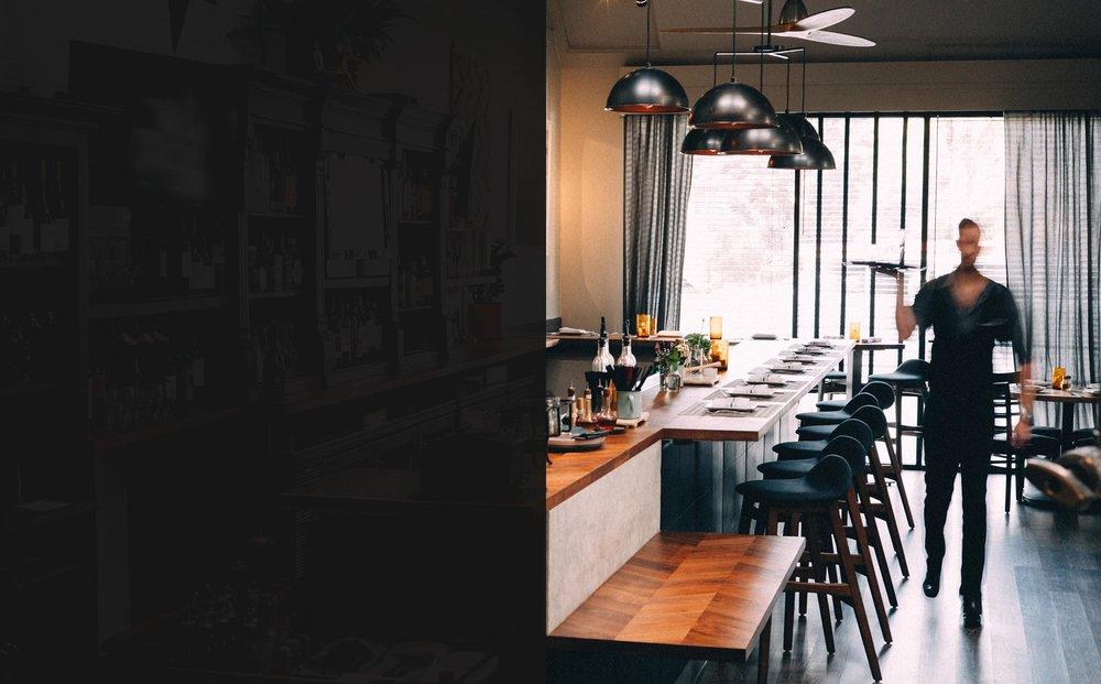 Restaurant fundet via Hoodee app