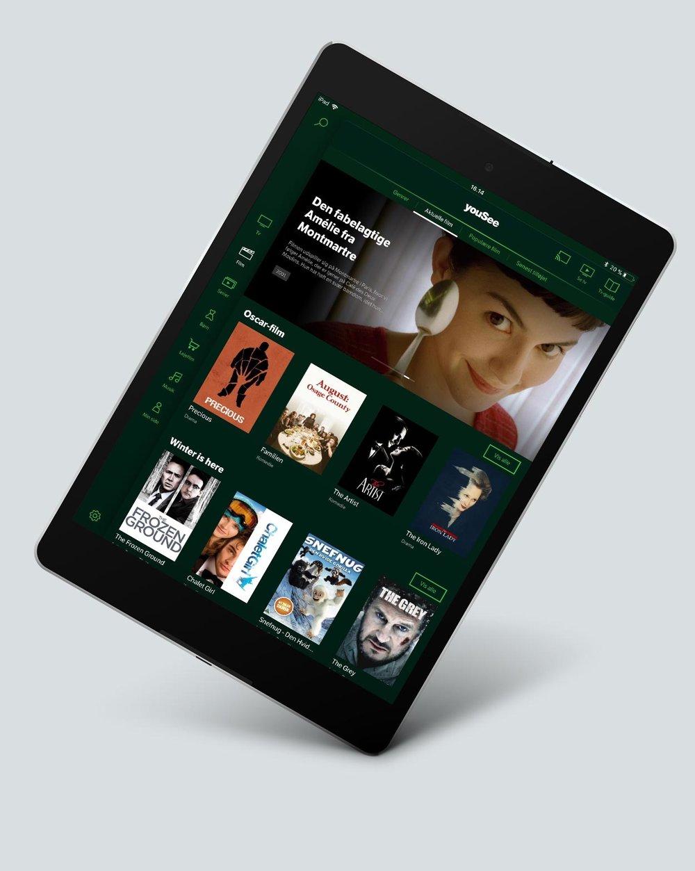 Yousee tv og film app