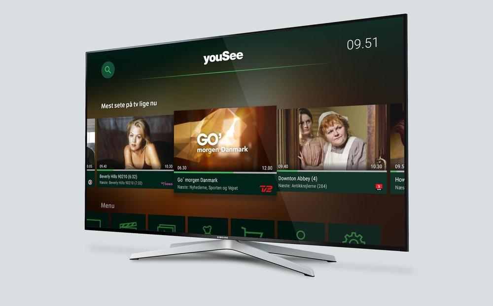 Yousee tv go morgen danmark