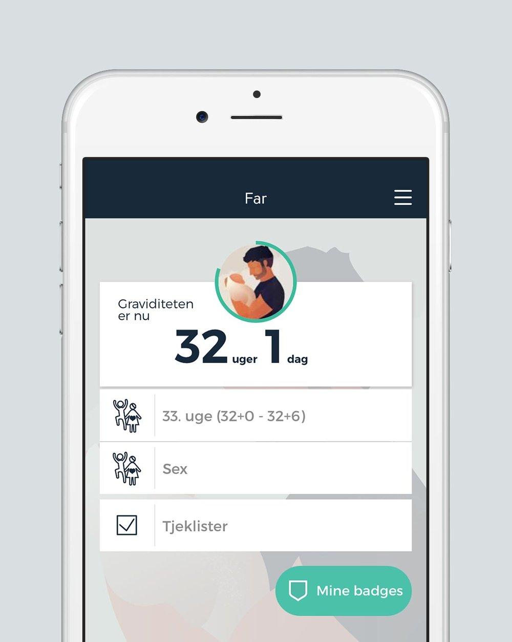 Far app til kommende fædre