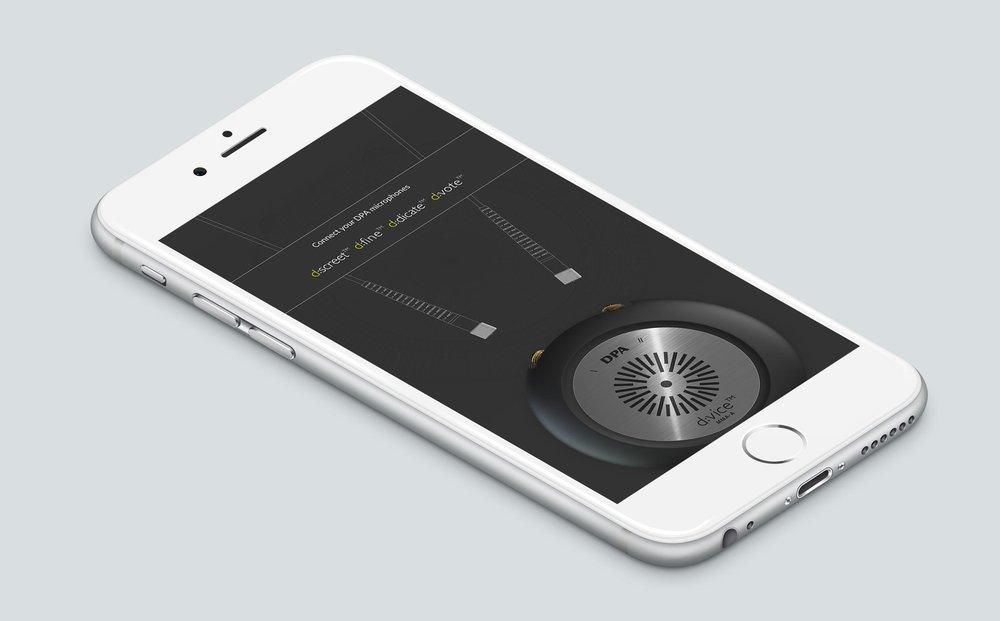 Mikrofon app til Iphone