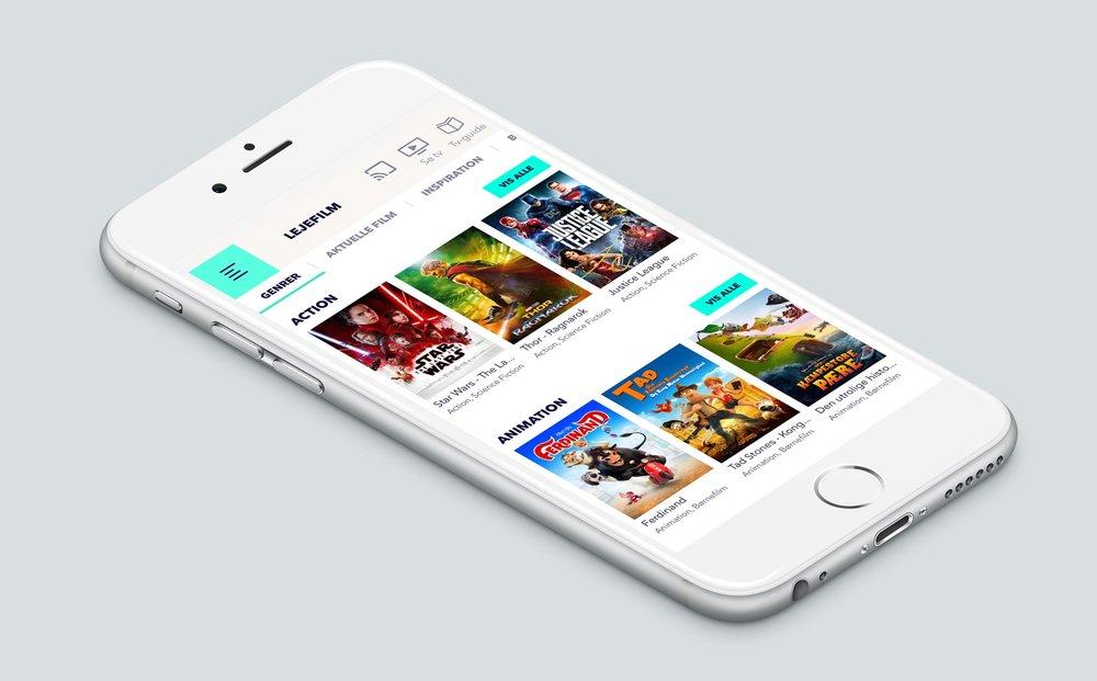 Lejefilm i Fullrate appen