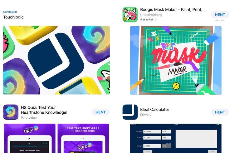 Forandringer i App store