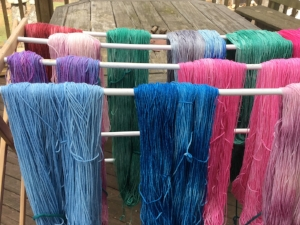 Just a small sample of what's in the dyepot.