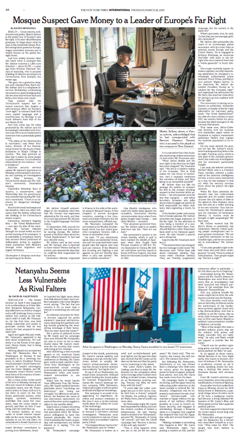 The New York Times, 28.03.2019
