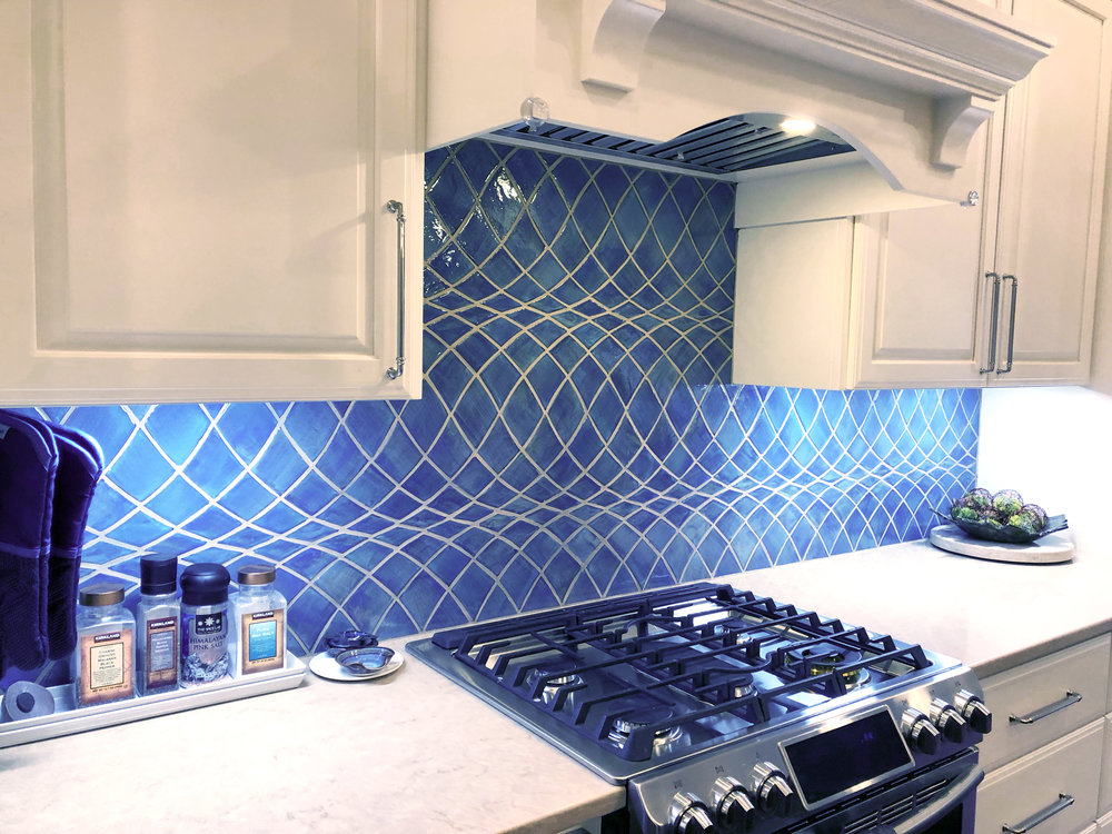 Handmade Kitchen Back splash Tile