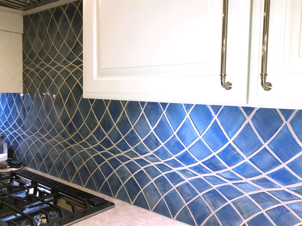 Custom Kitchen Back splash Design