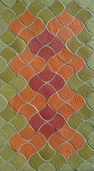Shield Tile Design Handmade