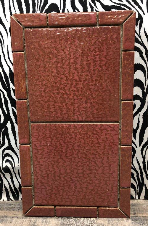 Red Tile Design