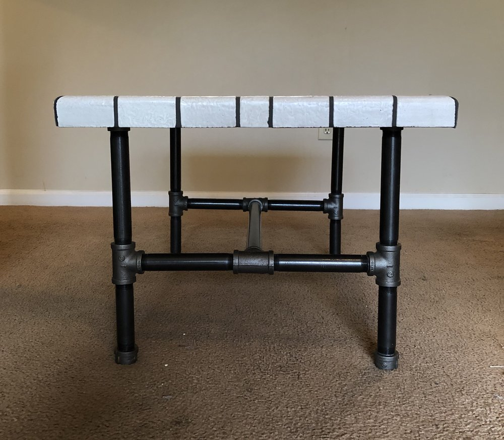 Tile Table side view