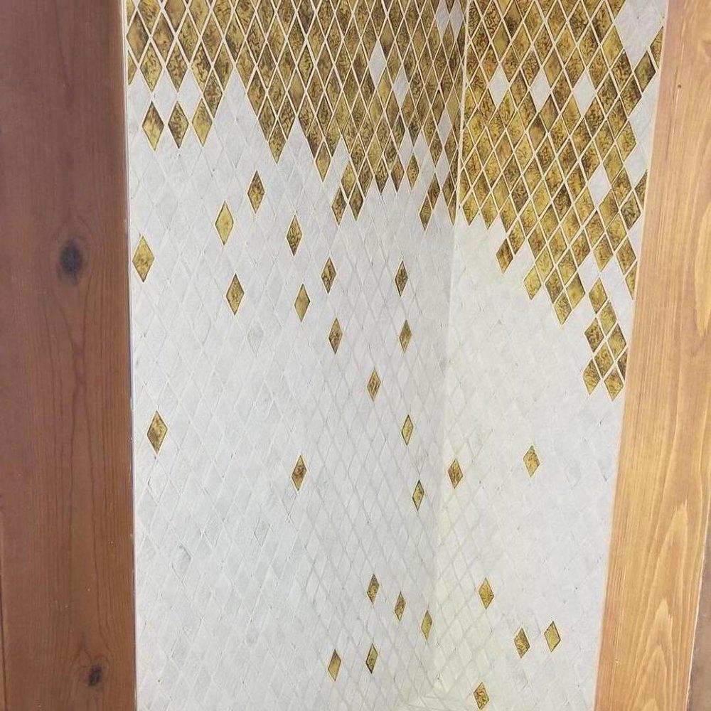 Ombre Tile Design