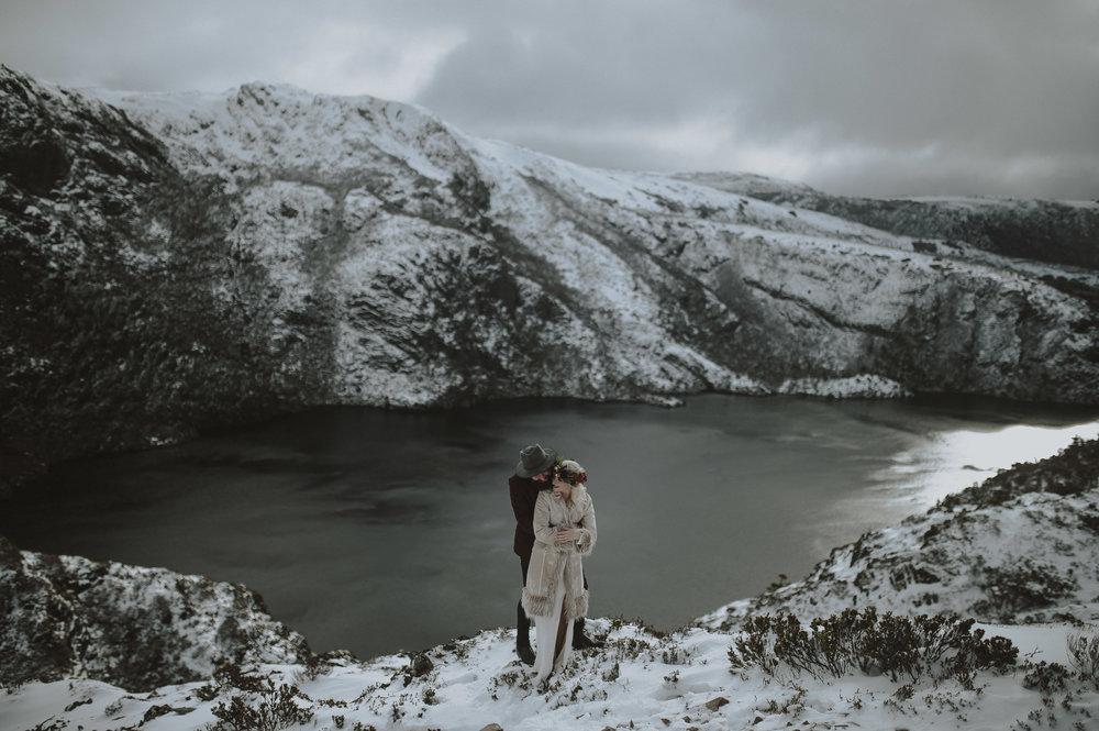 Tasmania elopement