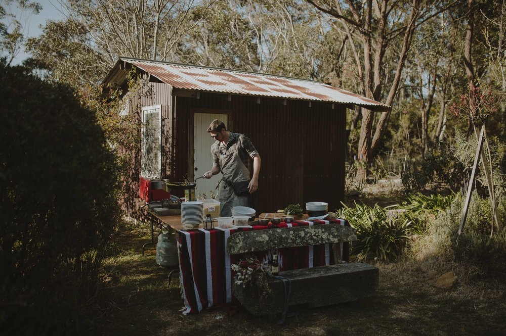 The Wilderness Chef - CateringEmail - wilderness.chef@hotmail.comPhone - 0412 834 004