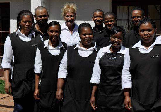 Staff of Chelaya Country Lodge