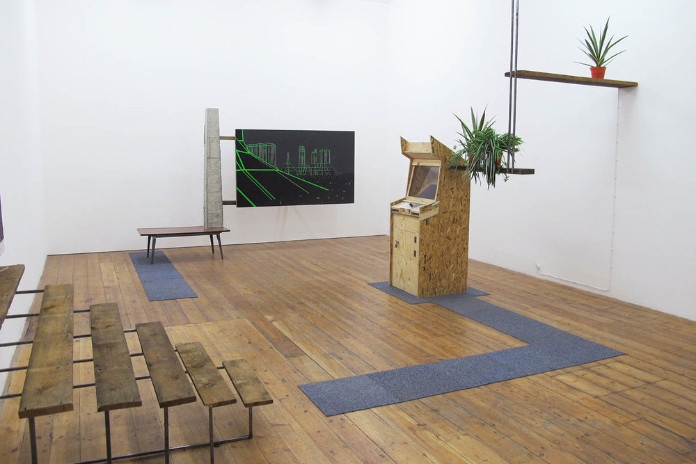 Geometric Figuring, 2013, installation view
