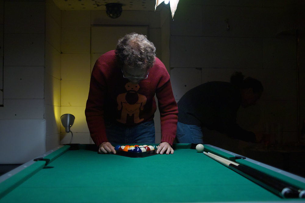 Pool tournament night, 2012