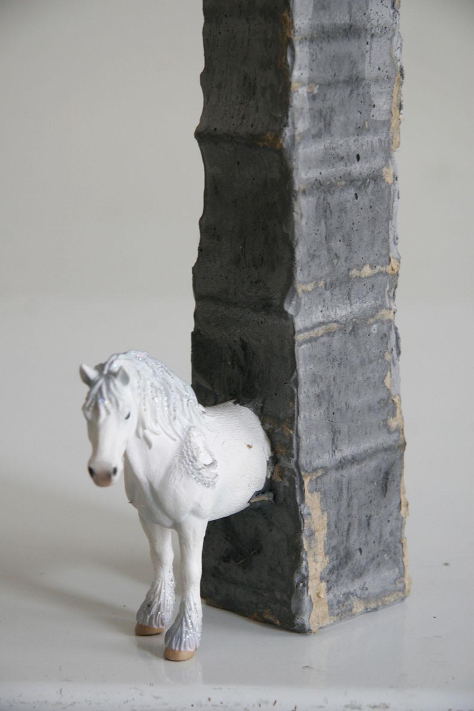 Horse Trophy, 2012, detail